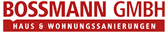 Bossmann GmbH Darmstadt | Sanierung und Renovierung aus einer Hand Logo